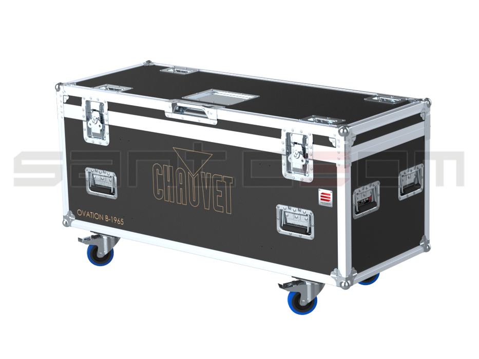 Santosom Blind  Flight case PRO, 4x Chauvet Ovation B-1965