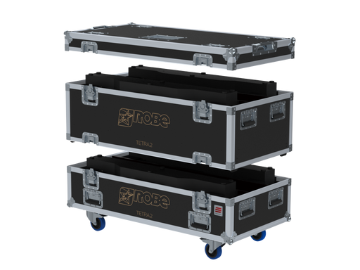 Santosom Blind  Flight Case PRO, 4x Robe Tetra 2