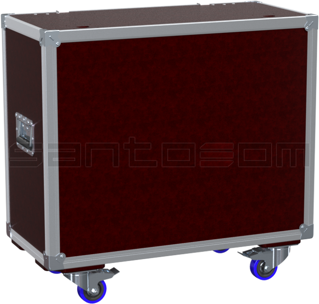 Santosom Blinder  Flight case X-Box, 4x DTS Flash 4000