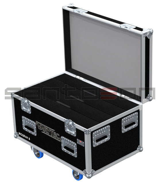 Santosom Blinder  Flight Case, 4x Varytec 18983, 8PAR-36