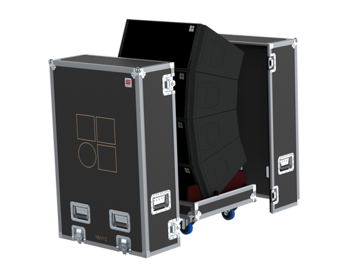 Santosom Cabinet  Flight case PRO-3, 4x D&B V8/V12