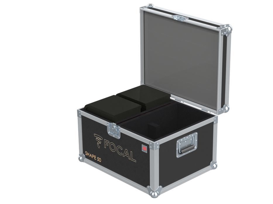 Santosom Cabinet  Flight Case, 4x Focal Shape 50