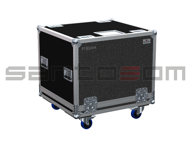 Santosom Cabinet  Flight Case, Master Audio P18SWA