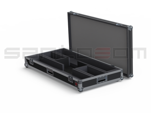 Santosom Cabinet  Flight Case, 2x Bose Model MA12EX, Accessories