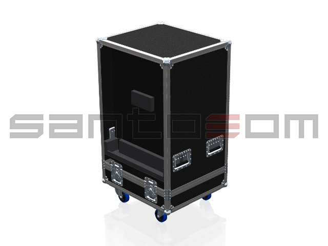 Santosom Cabinet  Flight Case, 4x KS Mini Line Array (Opcion II)
