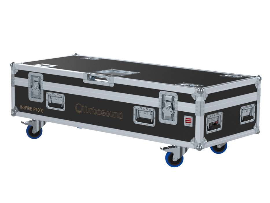 Santosom Cabinet  Flight Case PRO, 2x Turbosound Inspire IP1000