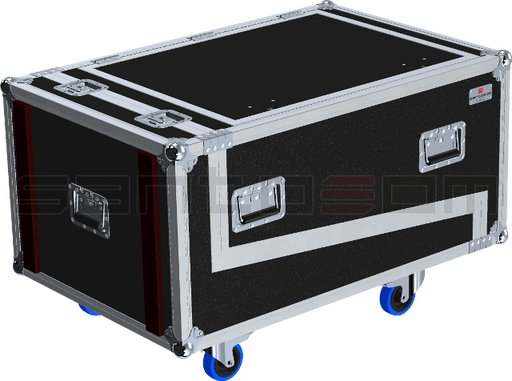 Santosom Cabinet  Flight Case STD, 4x DB Technologies DVA T4/T8 + DRK 20M