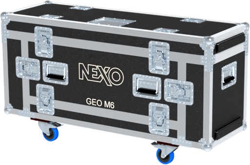 Santosom Cabinet  Flight Case 4P, 6x Nexo GEO M6 + Access.