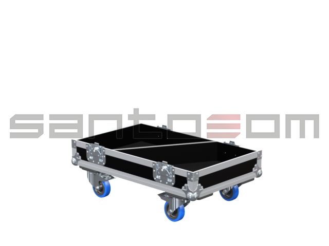 Santosom Cabinet  Flight case PRO, 2x L-Acoustics 112P