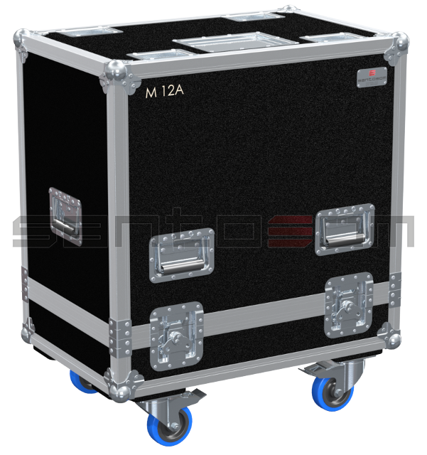 Santosom Cabinet  Flight case PRO, 2x DAS Action M12A
