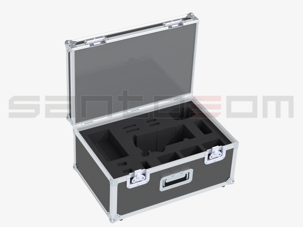 Santosom Broadcast  Flight case Sony F55 + access.