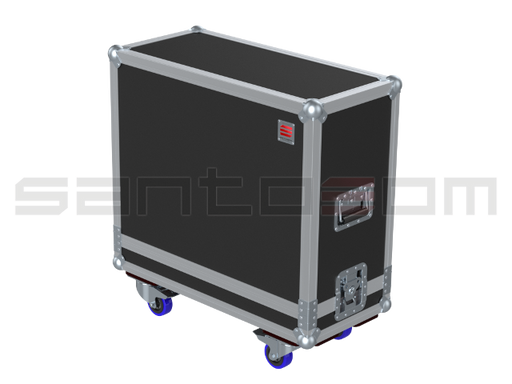 Santosom Backline  Flight Case, Roland Blues Cube 212 (680x270x545)