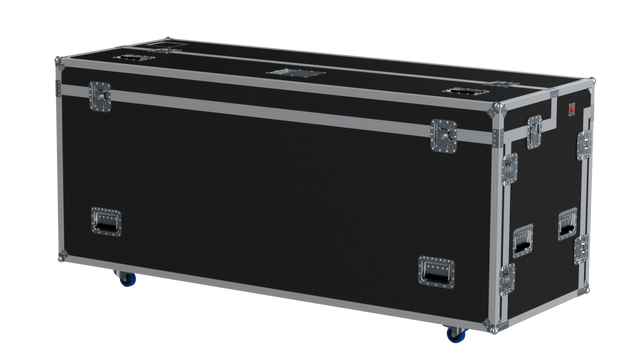 Santosom Flight Case DJ  Regie 2200x800