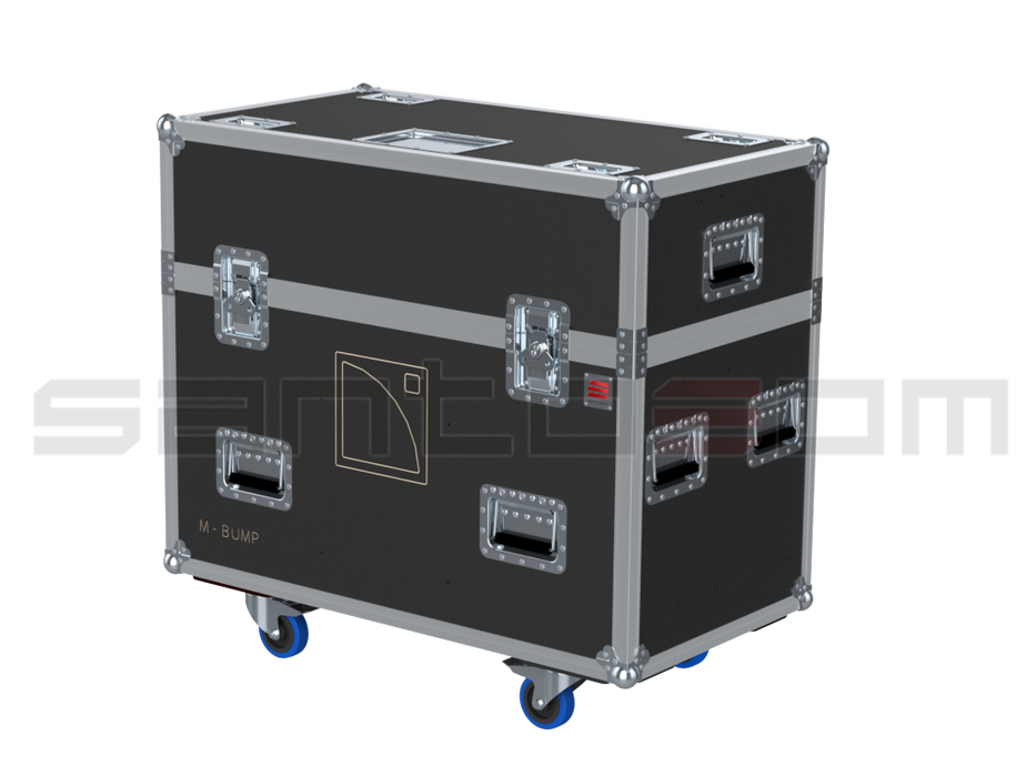 Santosom Rigging  Flight case PRO, 2x L-Acoustics Kara M-Bump + M-Bar