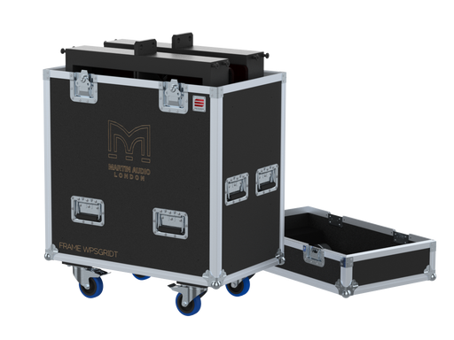 Santosom Rigging  Flight case, 2x Frame Martin Audio WPSGRIDt