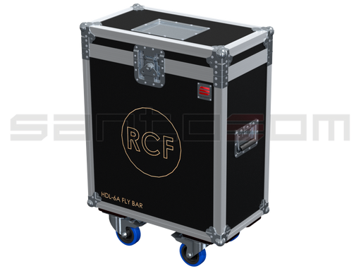 Santosom Rigging  Flight case, 2x RCF HDL-6 Flying frame
