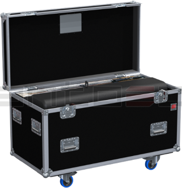 Santosom Custom Made  Flight case PRO, Follow Spot DTS PHARUS 1500, Stand