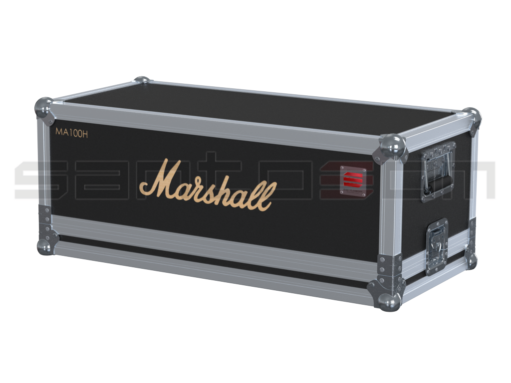 Santosom Backline  Flight Case, Marshall MA100H