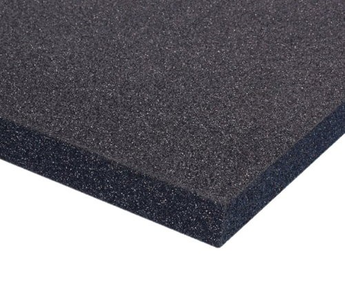 Adam Hall Hardware  Plastazote LD33 2000x1000x80mm - Black
