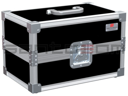 Santosom Lens  Flight case, Barco TLD 0.8 HB