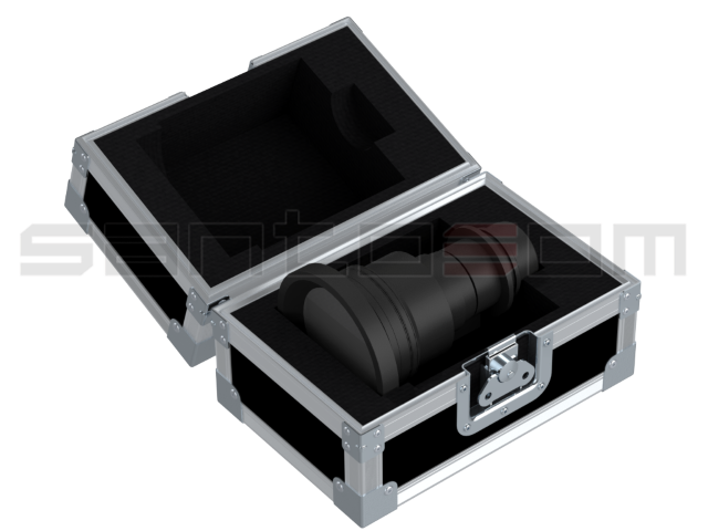 Santosom Lens  Flight case, Panasonic ET-DLE085