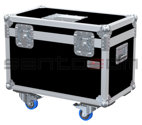 Santosom Rigging  Flight case, 2x EINHELL VTEH 300 + acess.