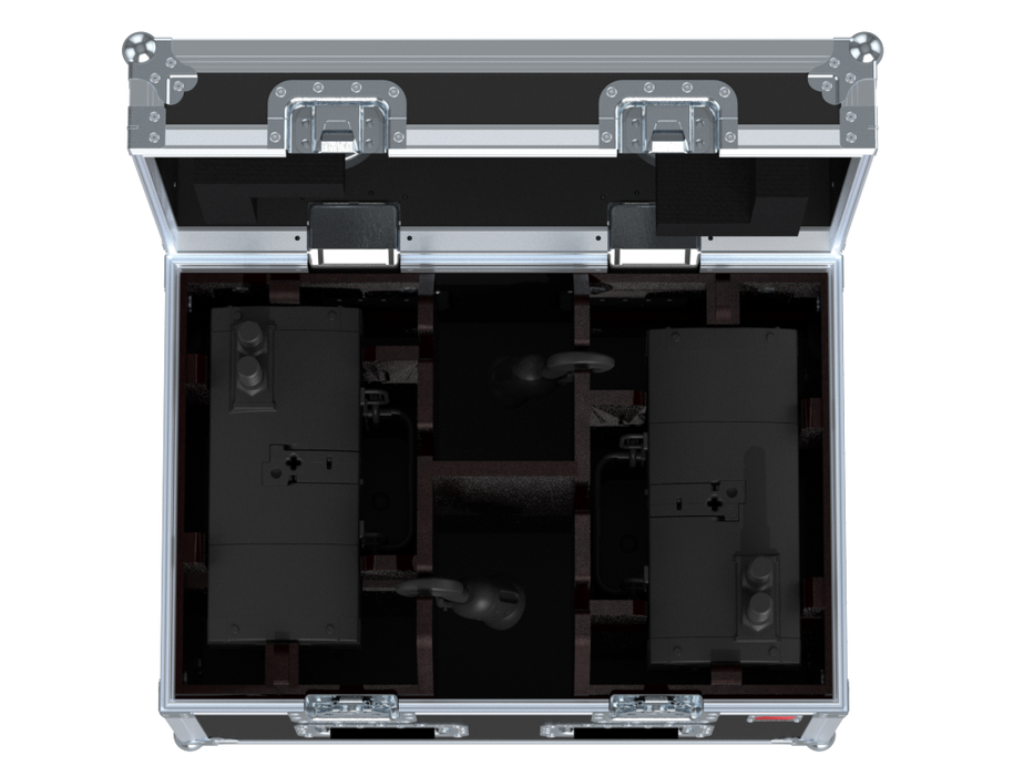 Santosom Rigging  Flight Case, 2x Verlinde Stagemaker D8 SR1
