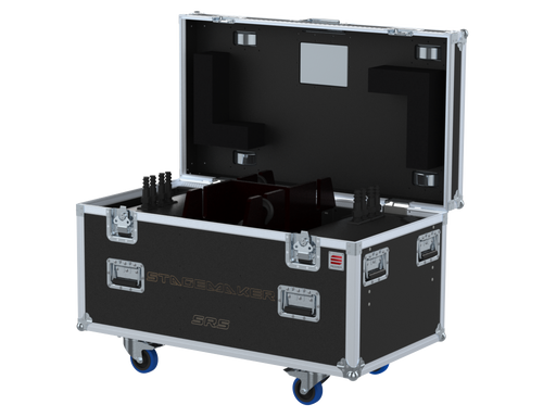 Santosom Rigging  Flight case, 2x Verlinde Stagemaker D8 SR5