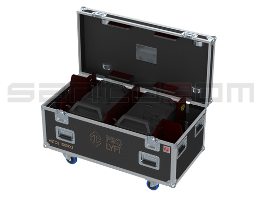 Santosom Rigging  Flight Case PRO, 2x Prolyft Aetos 1000Kg