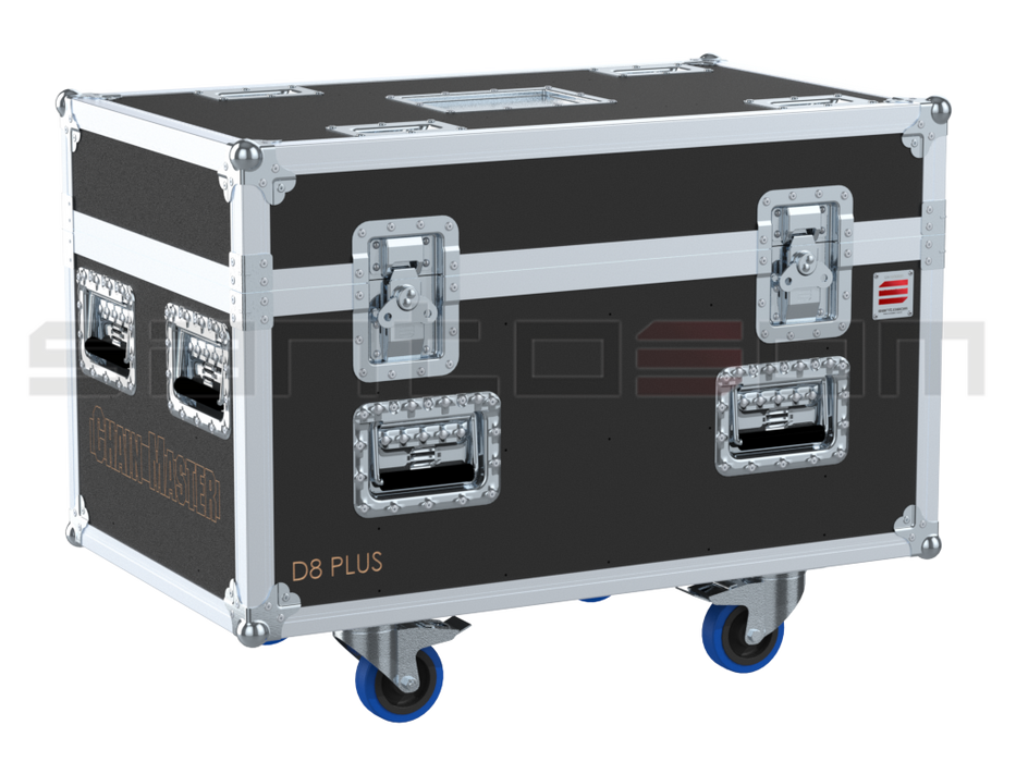 Santosom Rigging  Flight case PRO, 2x Chain Master D8+