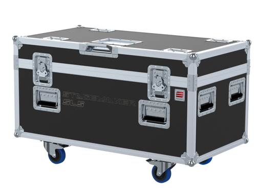 Santosom Rigging  Flight case PRO, 2x Verlinde Stagemaker D8 SL5