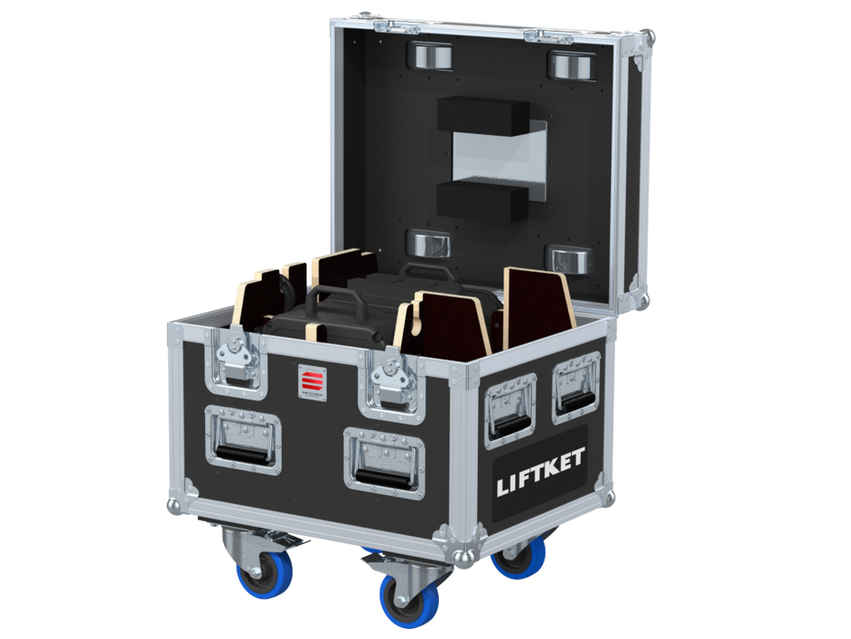 Santosom Rigging  Flight Case PRO, 1x LIFTKET STAGEKET 1T