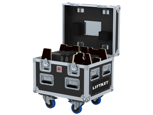 Santosom Rigging  Flight Case PRO, 1x LIFTKET STAR 500Kg