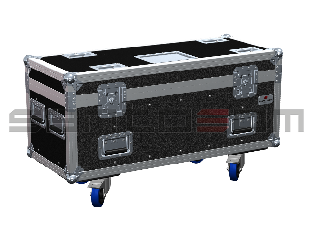 Santosom Rigging  Flight Case PRO, 2x Verlinde Stagemaker SM5