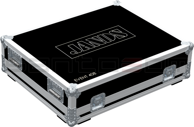 Santosom Lighting controller  Flight Case, Jands Event 408