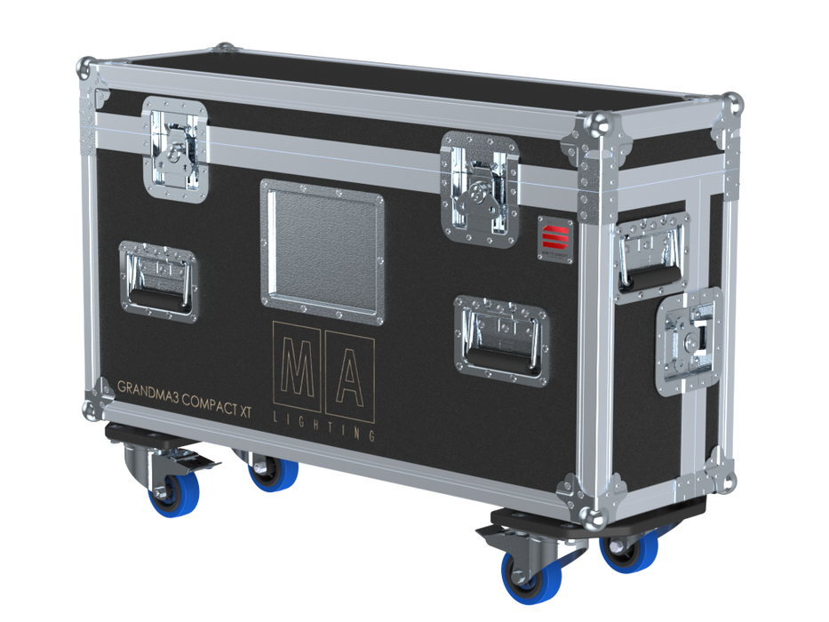 Santosom Lighting controller  Flight case PRO-3, grandMA3 compact XT