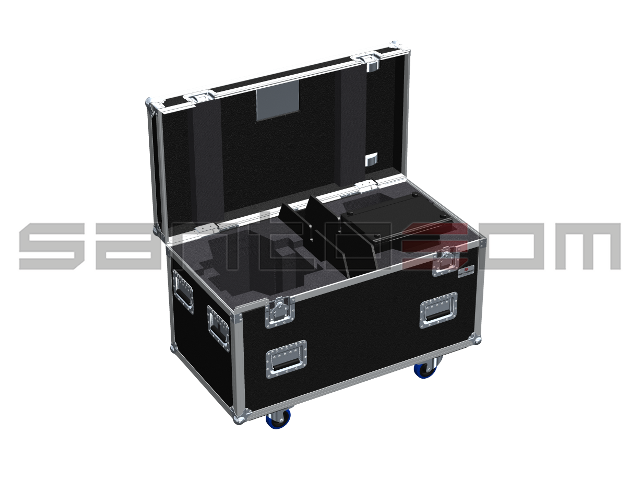 Santosom Moving Head  Flight Case, 2x Robe Robin 300