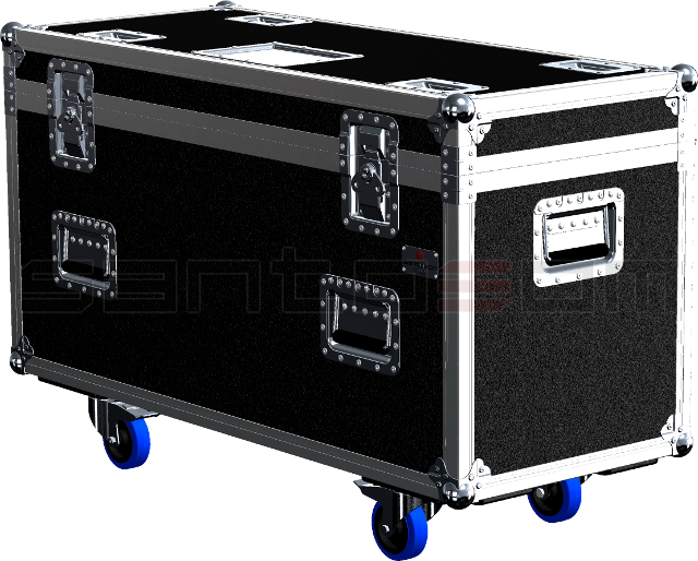 Santosom Moving Head PRO Flight case PRO, 2x Martin Rush MH3