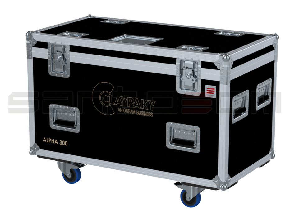 Santosom Flight Case Moving Head  2x Clay Paky Alpha 300/700/HPE (no Foam Shell)