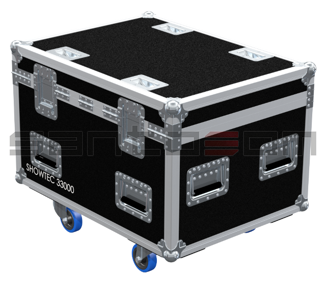 Santosom Moving Head  Flight case PRO, 4x Showtec Expression 33000
