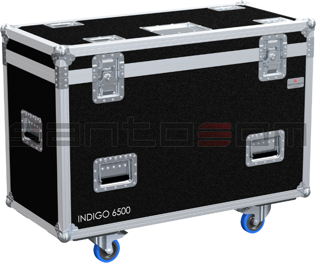 Santosom Flight Case Moving Head  2x Showtec Indigo 6500