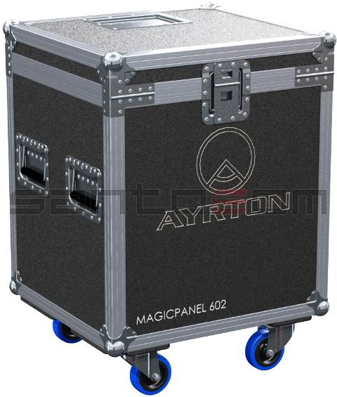 Santosom Moving Head  Flight Case, Ayrton Magicpanel 602 (No Foam Shell)