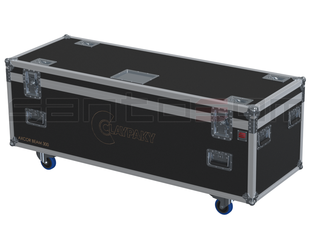 Santosom Moving Head  Flight case PRO, 4x Clay Paky Axcor Beam 300