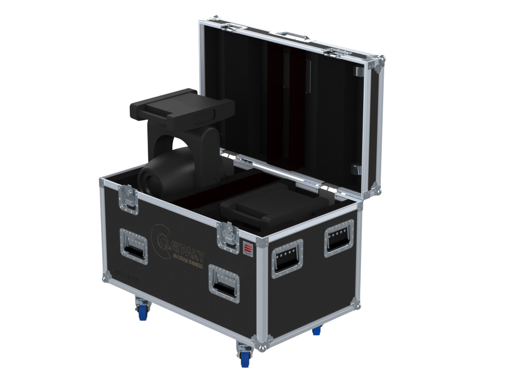 Santosom Flight Case Moving Head PRO 2x Clay Paky Axcor Spot 300
