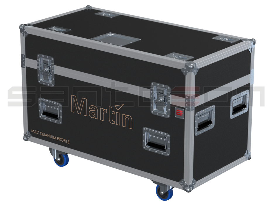 Santosom Moving Head PRO Flight case PRO, 2x Martin Mac Quantum Profile