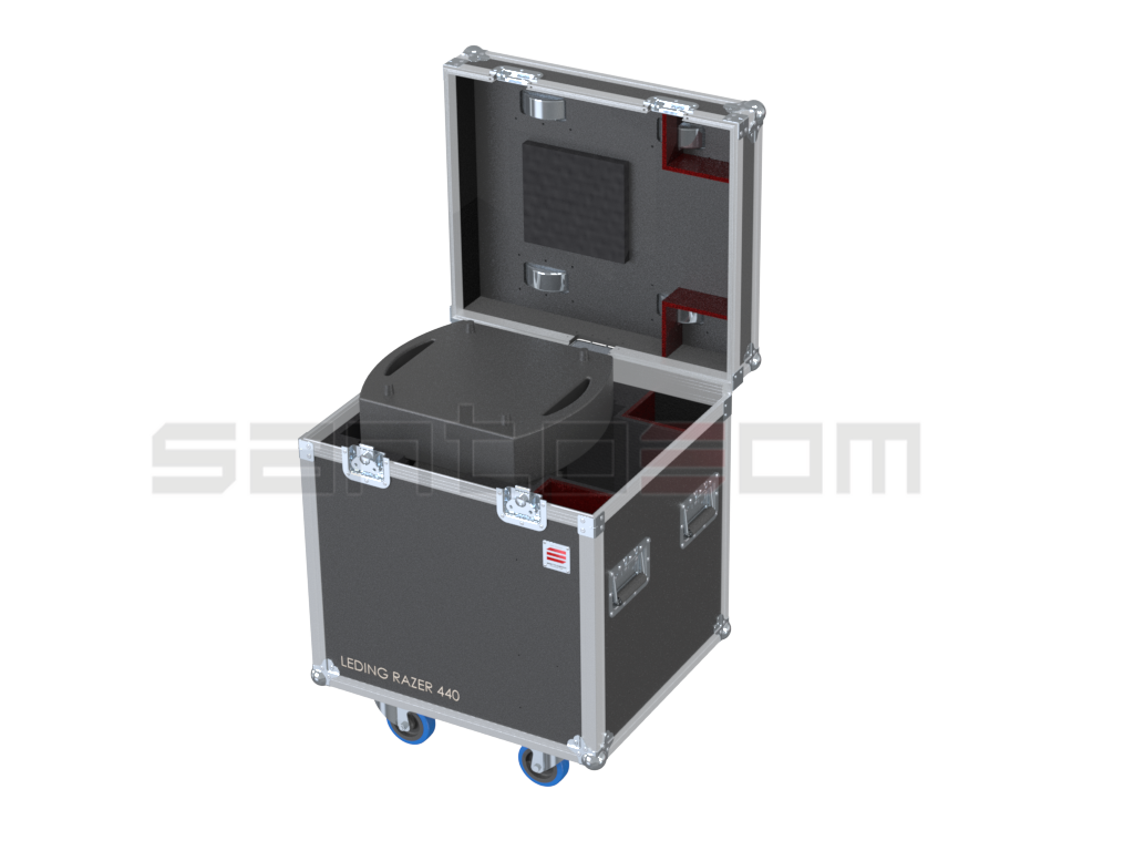 Santosom Moving Head  Flight case, Leding Razer 440