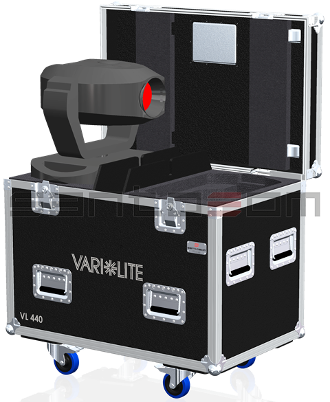 Santosom Moving Head PRO Flight Case PRO, 2x Vari*Lite VL440SP/VL880SP/VLX3WA
