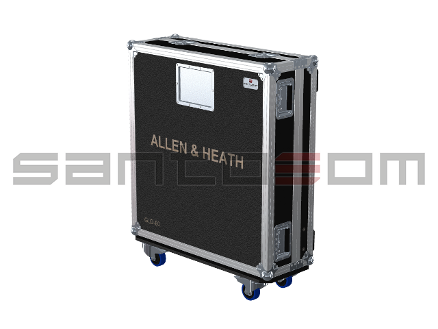 Santosom Mixer  Flight case PRO, Allen & Heath GLD80
