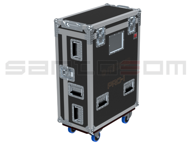 Santosom Mixer  Flight case PRO-3, Midas PRO1