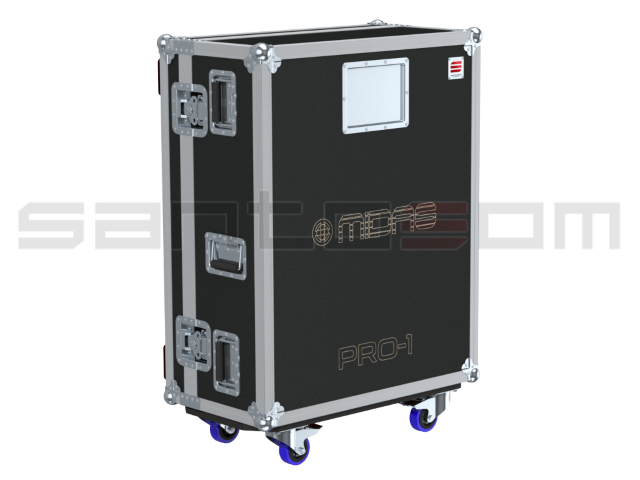 Santosom Mixer  Flight case PRO, Midas Pro1